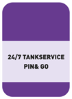 Bediend tanken en 24/7 tankservice Pin and GO
